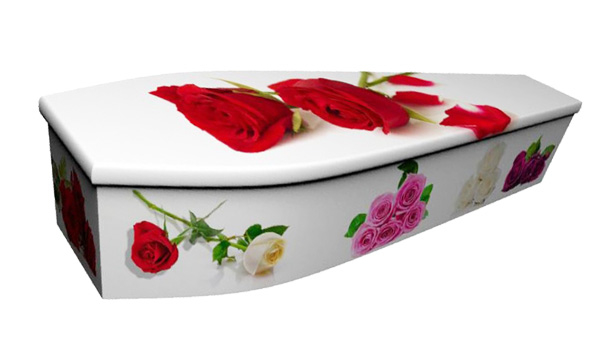 ash brook funerals roses picture coffin